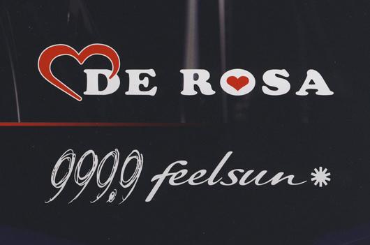 DE ROSAと999.9のコラボレーションサングラス
